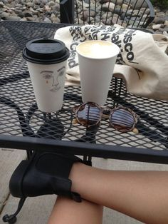 Chelsea Boots, Coffee, and American Apparel Tote Bag