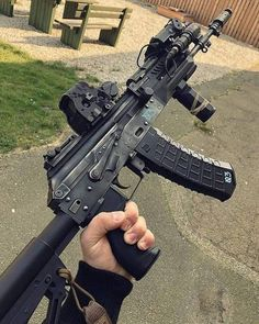 Guns I like ,gear I like ,simple. — the-nomadicone: Mother of Thor… It's beautiful! Military Weapons, Weapons Guns, Guns And Ammo, Big Guns, Cool Guns, Tactical Ak, Armas Airsoft, Battle Rifle, Combat Gear