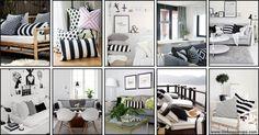 Stripes decor - decoration - listras - riscas - decoração - dicas - nick na europa
