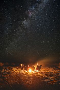 Let's have a bonfire at the beach and gaze up at the stars as if the night is never going to end