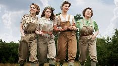 While you are staying home to do your bit for the country, watch BBC's Land Girls, a WWII era British series about 4 young women who left home to do theirs. Period Drama Series, British Period Dramas, Land Girls, Women's Land Army, John Boyne, Girl Drama, Murdoch Mysteries, The Last Kingdom, Bbc Drama