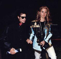 Lana Del Rey + Michael Jackson edit