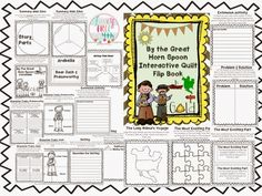 By the Great Horn Spoon end of book activities! Great bulletin board display, group work or individual use in interactive notebooks.
