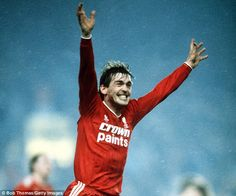 Kenny Dalglish played his last competitive game for Liverpool on May Day 1990 and last managed Liverpool against Everton on February 20 Liverpool Players, Liverpool Football Club, Liverpool Fc, Kenny Dalglish, Celtic Fc, Everton, Football Jerseys, Nostalgia, The Past
