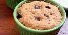 vegan banana microwave muffin