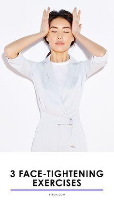 Face Yoga 4 Anti-Aging Exercises to Do Instead of Facel.- Face Yoga 4 Anti-Aging Exercises to Do Instead of Facelifts Face Yoga 4 Anti-Aging Exercises to Do Instead of Facelifts – - Yoga Facial, Massage Facial, Anti Aging Tips, Best Anti Aging, Anti Aging Cream, Anti Aging Skin Care, Technique Massage, Face Yoga Exercises, Stretches