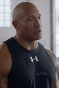 Spencer Strasmore wearing  Under Armour Charged Cotton Jus Sayin Too Tank