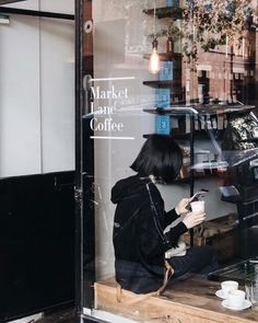 My first coffee stop in Melbourne: Market Lane Coffee. They have the best coffee cups that you may have seen on Instagram with the text 'We love to make coffee for the city that loves to drink it'. Can't argue with that Melbourne loves its coffee and so do I  - P.S. I also love their salted caramel cookies
