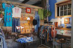 vintage shop interior