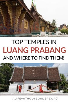 A guide to the most incredible Luang Prabang temples in the ancient capital of Laos – plus a handy map of where to find them! Laos Travel, China Travel, India Travel, Japan Travel, Cambodia Travel, Luang Prabang, Travel Guides, Travel Tips, Travel Articles