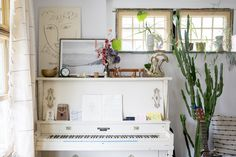 Schoolhouse Living: Emily Katz Schoolhouse Electric, Unique Home Accessories, Ace Hotel, House Smells, Sound Design, Interior Inspiration, Bar Stools, Thrifting, Living Rooms