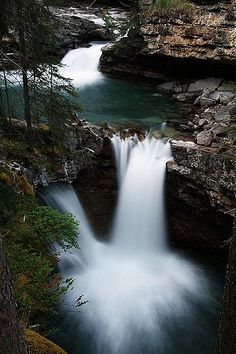 2nd Waterfall in Johnston Canyon | Johnston Canyon, Banff Na… | Flickr