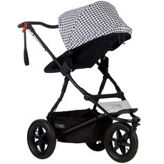 mountain buggy urban jungle luxury collection pepita with parent facing seat