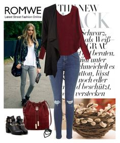 """""""Romwe 9-V"""" by sejdina ❤ liked on Polyvore featuring мода, Topshop и Vince Camuto"""