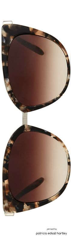Barton Perreira Ronette Cat-Eye Sunglasses, Orion Marble