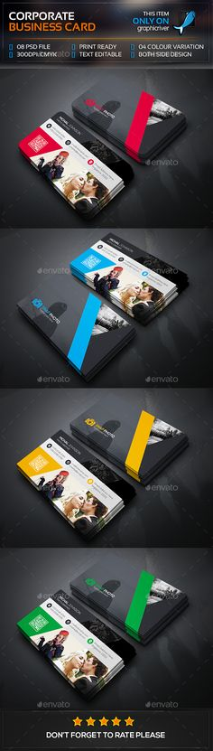 Photography Business Card Template PSD #visitcard #design Download: http://graphicriver.net/item/photography-business-card/13472308?ref=ksioks