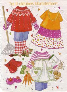 Бумажные куклы   МАМА И МАЛЫШ