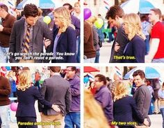 18 Times Leslie Knope and Ben Wyatt Gave Us Relationship Goals Parks And Recreation Ben, Parks And Rec Memes, All The Things Meme, Random Things, Random Stuff, Parcs And Rec, Leslie And Ben, Lil Sebastian, Ben Wyatt