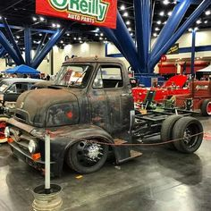 Classic COE Ford truck..
