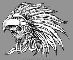 graphic aztec art - Google Search