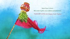 May this Ugadi bring you new spirit new beginning and new prosperity Wishing you a very happy Ugadi!