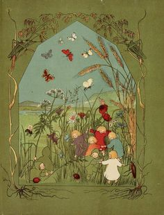 muirgilsdream:    Van der Wortelkindertjes. Autumn in the meadow.