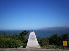 China Beach Monument - In the novel Murder San Francisco Style, Sgt. Benjamin Elliott stops to read the dedication to the Chinese fishermen who anchored their boats off shore  and camped on the beach because they were not welcome in San Francisco Bay.