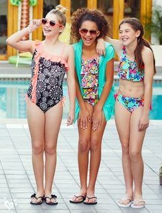 1bd1c2a3963 19 Best tween swimwear images in 2017 | Baby girl swimsuit, Outfits ...