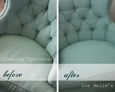 Lue Belle's: Cleaning Upholstery
