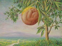 La Vie Heureuse by Rene Magritte (1944) Rene Magritte  ( 1898 - 1967 ) More At FOSTERGINGER @ Pinterest