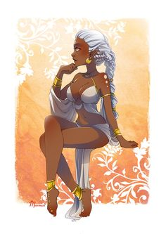 Dark Skin Anime Characters and Other Goodies Fantasy Character Design, Character Design Inspiration, Character Art, Black Love Art, Black Girl Art, Mode Poster, Black Girl Cartoon, Black Art Pictures, Black Anime Characters