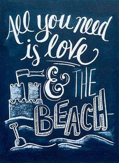 Box Sign - Beach Decor