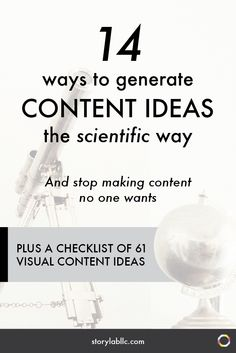Are you coming up with content ideas the smart way, or the crazy way? (From the archives)