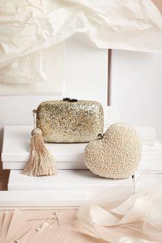 Cute bridal clutches | bhldn
