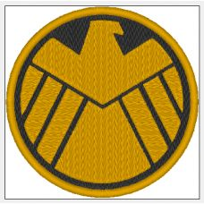 AOS SHIELD sew on patch