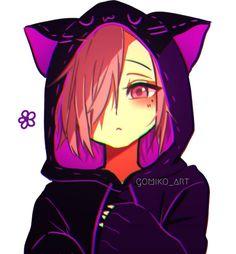 Anime Cat Boy, Gato Anime, Chibi Anime, Chica Anime Manga, Anime Boys, Cute Anime Pics, Cute Anime Boy, Cute Anime Couples, Comic Art