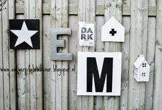 Saaie schutting? Leuk 'm op! www.ontwerpfabrieksnor.blogspot.nl