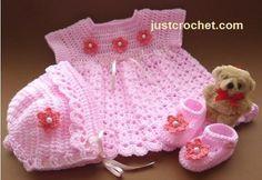 Baby Girl Crochet, Crochet Baby Clothes, Crochet For Kids, Diy Crochet, Crochet Dresses, Crochet Children, Cocoon Bebe, Baby Patterns, Crochet Patterns