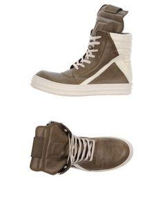 RICK OWENS Men s High-tops   sneakers Military green 8 US Moda Maschile 7c6a68e1524