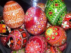 Colorama Dyes by PysankyUSA .Duck eggs by Katrina Lazarev