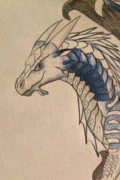 Wings Of Fire Dragons, Cool Dragons, Clay Dragon, Dragon Art, Dragon Head, Magical Creatures, Fantasy Creatures, Dragon Sketch, Fantasy Dragon