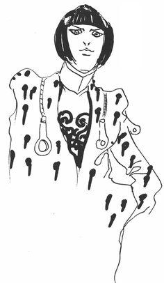 Araki Doodles - Part 5 - Vento Aureo