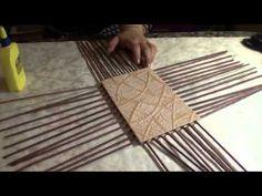 HOME DZINE Craft Ideas | Make rolled paper 'wicker' baskets