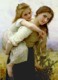 An Easy Burden by William Bouguereau