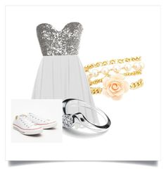 """""""Fancy Dinner"""" by sportsgirl-i ❤ liked on Polyvore featuring beauty, Charlotte Russe and Converse"""