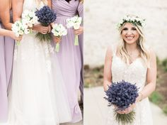 Lavender and Tulips bouquets