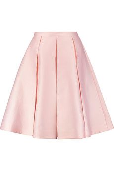 Emilia Wickstead Duchesse-satin culottes | THE OUTNET