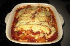 zucchini quinoa lasagna finished Zucchini Quinoa, Quinoa Pasta, Lasagna, Vegetarian, Yummy Food, Foods, Meat, Ethnic Recipes, Food Food