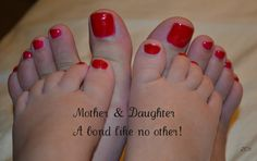 A bond between a Mother and Daughter is like no other!