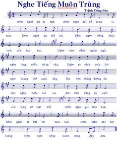 Nghe Tiếng Muôn Trùng - Music Sheet